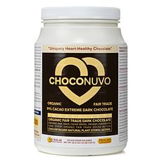 ChocoNuvo 91% Cacao Extreme Dark Chocolate-120 Servings