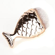 Chubby Mermaid Makeup Brush - Rose Gold Tone