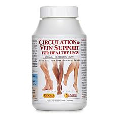 Circulation and Vein Support for Healthy Legs - 720 Capsules