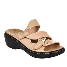 Clarks Collection Delana Jazz Leather Sandal