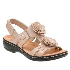 Clarks Leisa Claytin Lightweight Leather Sandal
