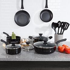 Classic Cuisine Allumi-shield 15-piece Nonstick Cookware Set w/Lids
