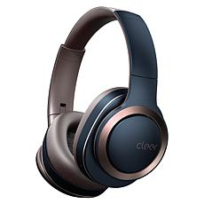 Cleer Enduro Noise-Cancelling Bluetooth Over-Ear Headphones - Navy