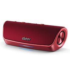 Cleer Stage Water-Resistant Bluetooth Speaker w/Amazon Alexa - Red