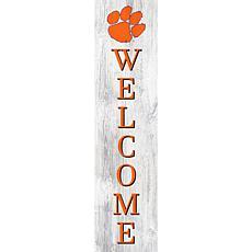 "Clemson University 48"" Welcome Leaner"