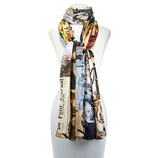Clever Carriage Memories Silk Scarf