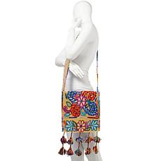 Clever Carriage Peruvian Embroidered Crossbody
