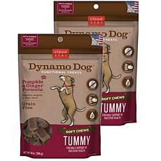 Cloud Star  Dynamo Dog Tummy - Pumpkin & Ginger 14 oz Functional Tr...