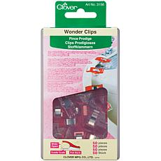 Clover Wonder Clips - 50pc