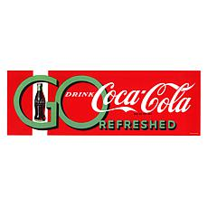 "Coca-Cola ""Go Drink"" Canvas Art"