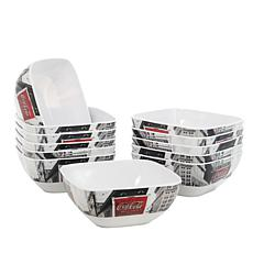 "Coca-Cola Sophistication 6"" Bowls"