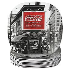 "Coca-Cola Sophistication 8.25"" Dessert Plate"