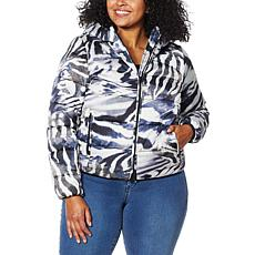 Coldesina Printed Puffer Jacket