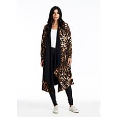 Coldesina Reversible Mimi Cape in Leopard
