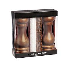 Cole & Mason Forest Capstan Salt & Pepper Set