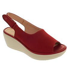 Collection by Clarks Reedly Shaina Slingback Wedge Sandal