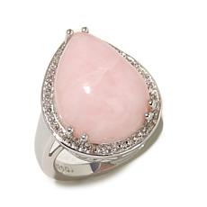 "Colleen Lopez ""Blushing Memories"" Opal & Topaz Ring"
