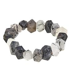 Colleen Lopez Gemstone Nugget Stretch Bracelet