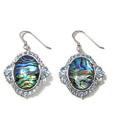 "Colleen Lopez ""Oceanside"" Abalone Doublet Earrings"