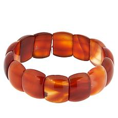 Colleen Lopez Opaque Gemstone Stretch Bracelet