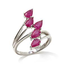 "Colleen Lopez ""Petals and Poetry"" 2.25ctw Ruby Ring"