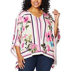 Colleen Lopez Printed Butterfly Top
