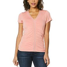 Colleen Lopez Vertical Lines Detail Top