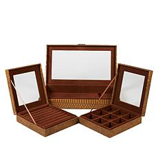 Colleen's Prestige™ 3-piece Nesting Jewelry Box Set