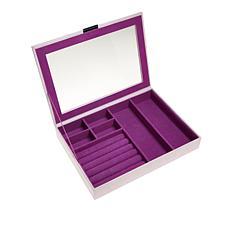 Colleen's Prestige™ Snakeskin-Embossed Rectangular Jewelry Box