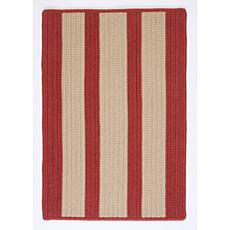 Colonial Mills Boat House 8' Square Rug - Rust Red