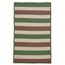 Colonial Mills Stripe It 2' x 3' Rug - Moss/Stone