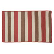 Colonial Mills Stripe It 2' x 3' Rug - Terracotta