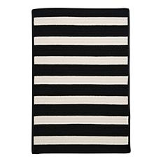 Colonial Mills Stripe It 3' x 5' Rug - Black/White