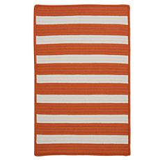 Colonial Mills Stripe It 3' x 5' Rug - Tangerine