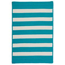 Colonial Mills Stripe It 3' x 5' Rug - Turquoise