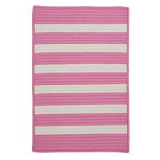 Colonial Mills Stripe It 5' x 8' Rug - Bold Pink