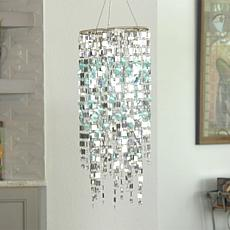 Color-Changing Shimmering Chandelier