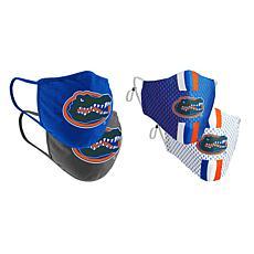 Colosseum Collegiate NCAA Team Logo Face Covering 4-Pack - Florida