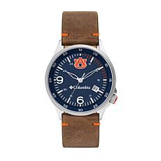 Columbia Men's Canyon Ridge Auburn Saddle Leather Strap Watch