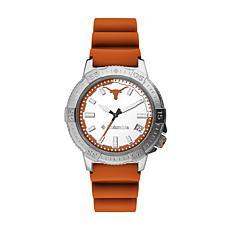 Columbia Men's Peak Patrol Texas Longhorns Orange Silicone Strap Watch