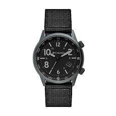 "Columbia ""Outbacker"" Men's Black Nylon Strap Watch"