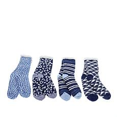 Comfort Code 4-pack Sherpa-Lined Cabin Socks