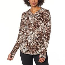 Comfort Code Baby French Terry V-Neck Top