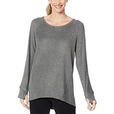 Comfort Code Long-Sleeve Fleece Top