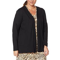 Comfort Code Open-Front Cardigan with Pockets
