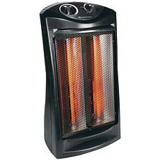 Comfort Zone 1500-Watt Radiant Quartz Tower Heater
