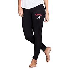Concepts Sport Atlanta Braves Fraction Women's Leggings