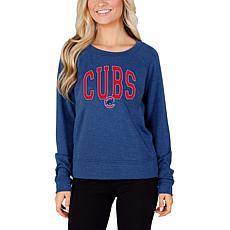 Concepts Sport Mainstream Ladies Knit Long Sleeve Top - Cubs
