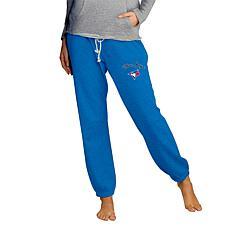 Concepts Sport Mainstream Ladies Knit Pant - Blue Jays