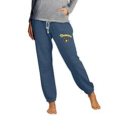 Concepts Sport Mainstream Ladies Knit Pant - Brewers